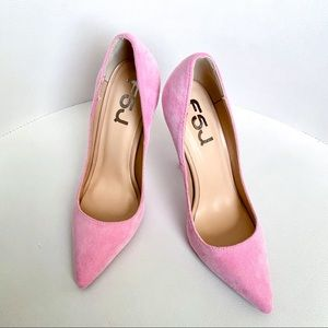 Sexy Suede Pointed Toe Pumps